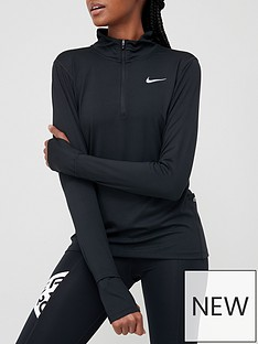 nike-running-long-sleevenbsp12nbspzip-element-top-black
