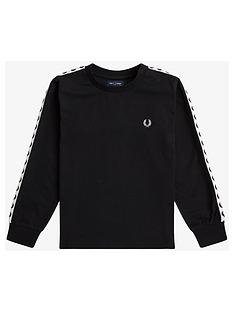 fred-perry-boys-long-sleeve-taped-ringer-t-shirt-black