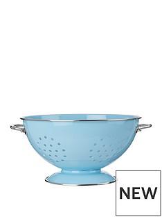 premier-housewares-retro-colander-blue