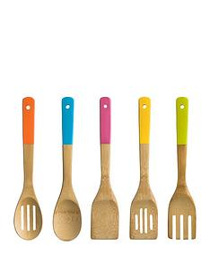 premier-housewares-5-piece-bamboo-utensil-set
