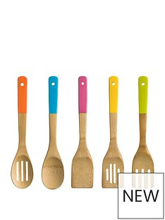 premier-housewares-5-piece-bamboo-utensil-set