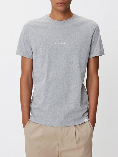 les-deux-lens-logo-t-shirt-grey