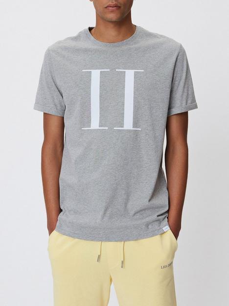 les-deux-encore-logo-t-shirt-grey