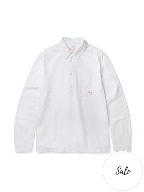 albam-utility-pullover-shirt-white