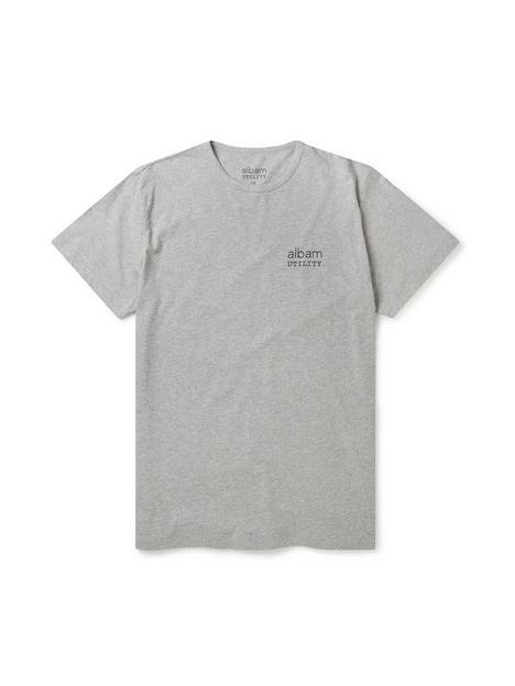 albam-utility-graphic-t-shirt-grey-marl