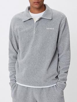 les-deux-copparo-fleece-rugby-sweatshirt-grey
