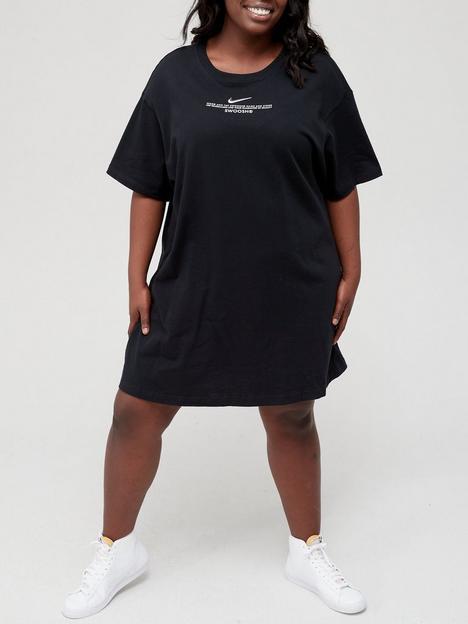 nike-nsw-curve-swoosh-short-sleeved-dress-black