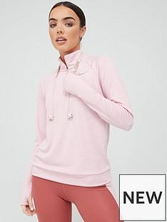 nike-running-long-sleevenbsphalf-zip-pacer-top-pink