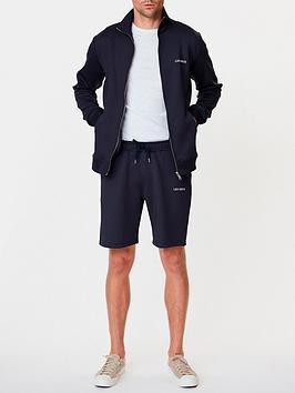 les-deux-bailer-track-shorts-navy