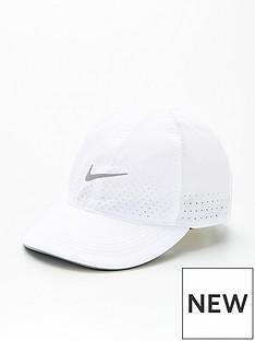 nike-running-cap-white