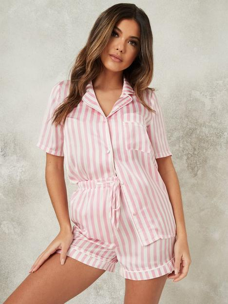 missguided-missguided-stripe-pj-set--nbsppink