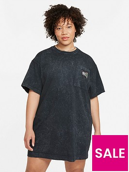 nike-curve-nswnbspwash-short-sleeved-dress-washed-black