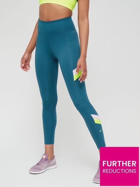 nike-the-one-colourblock-stripe-legging-teal-greennbsp