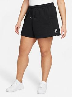 nike-air-curve-nswnbspfleece-shorts-black