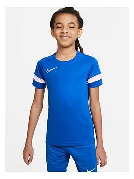 nike-junior-academy-21-dry-t-shirt-blue