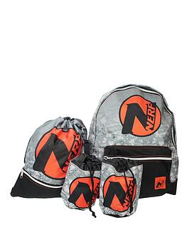 Nerf Nerf Backpack With Dart Pouch & Trainer Bag