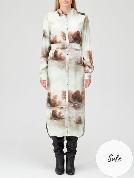coster-copenhagen-forest-print-shirt-dress-mint