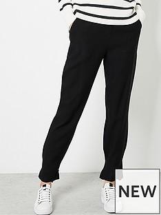 mint-velvet-bow-hem-easy-trouser-black
