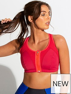 pour-moi-energy-zip-front-lightly-padded-sports-bra-multi