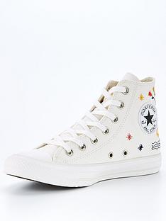 converse-chuck-taylor-all-star-embroidered-hi-top-plimsolls-cream
