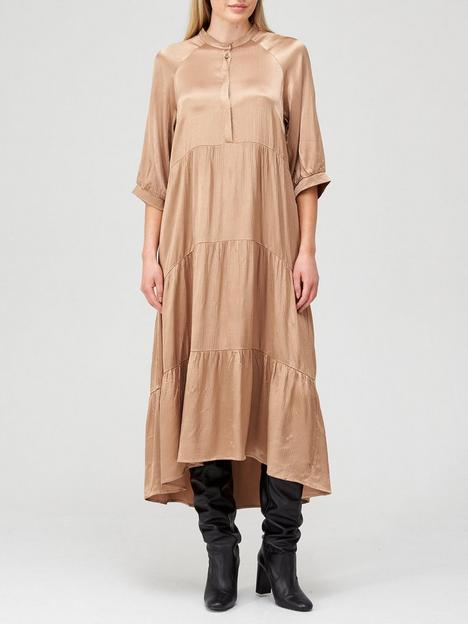 coster-copenhagen-smock-dress-camel