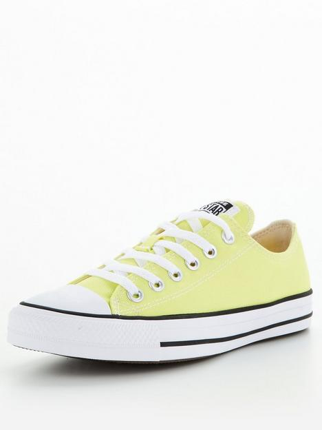 converse-chuck-taylor-all-star-ox-trainers-lime