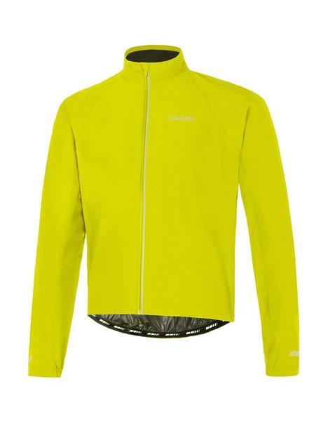 madison-peloton-mens-waterproof-cycling-jacket-lime-punch