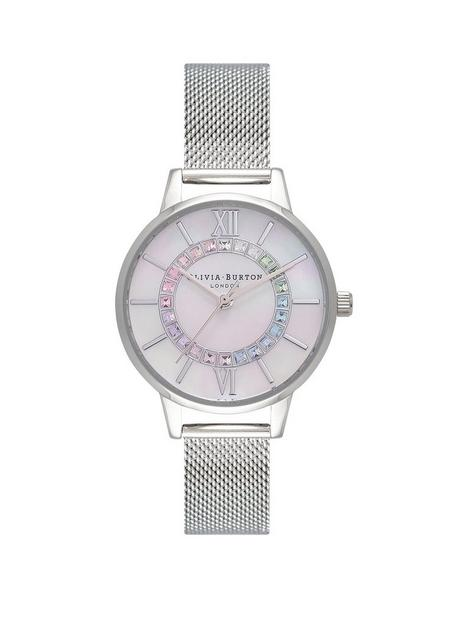 olivia-burton-olivia-burton-wonderland-rainbow-wonderland-midi-mop-dial-white-silver-watch
