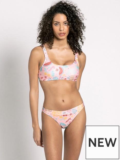 chelsea-peers-tropical-print-crop-bikini-top-pink