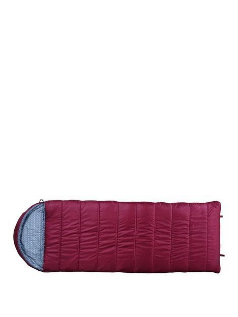 highland-trail-rectangular-sleeping-bag-with-mummy-hood--nbspextra-large-adult-size