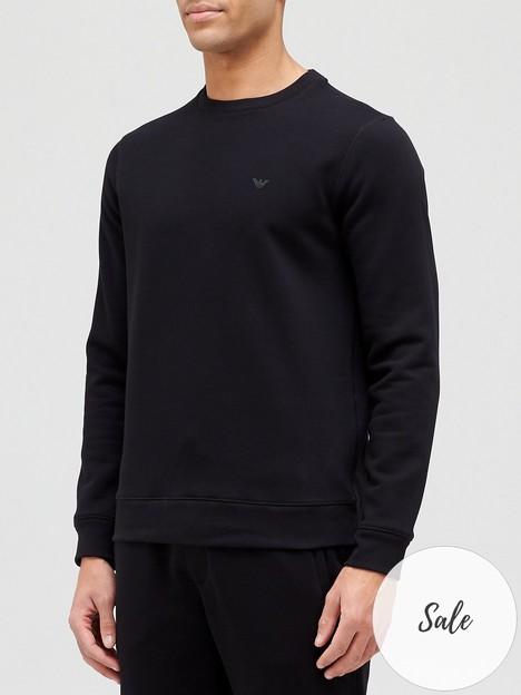 emporio-armani-classic-logo-sweatshirt-black