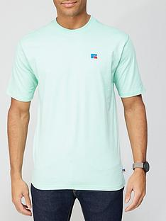 russell-athletic-baseliner-t-shirt-green