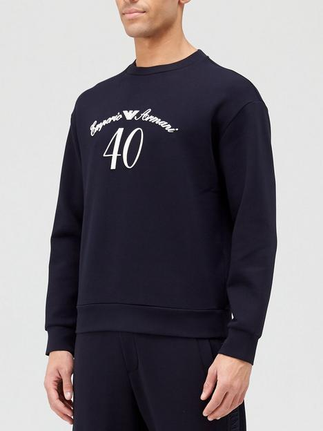 emporio-armani-40th-anniversary-logo-sweatshirt-black