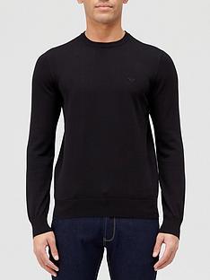 emporio-armani-classic-knitted-jumper-black