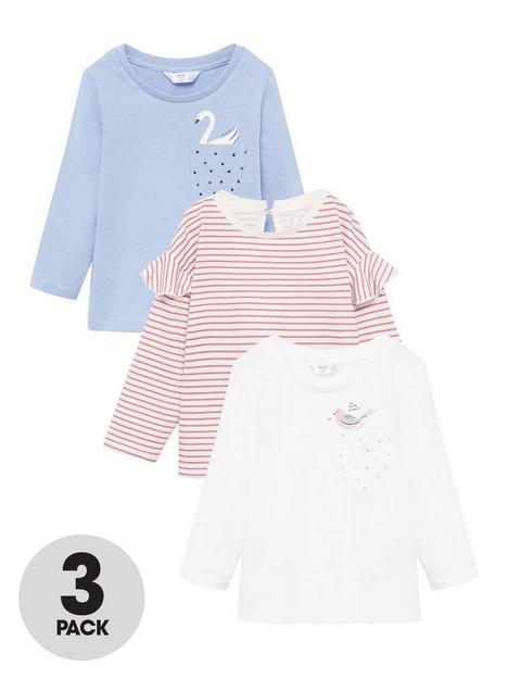 mango-baby-girls-3-pack-long-sleeve-t-shirts-multi