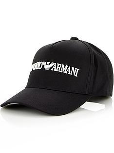 emporio-armani-mens-classic-logo-baseball-cap-black