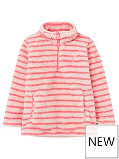 joules-girls-merridie-stripe-half-zip-fleece-pink-stripe