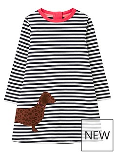 joules-girls-rosalee-dog-long-sleeve-dress-navy