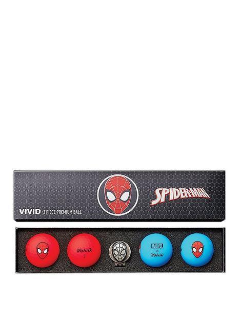 volvik-volvik-marvel-4-ball-marker-pack-spider-man