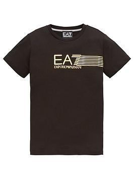 ea7-emporio-armani-boys-7-lines-logo-t-shirt-black