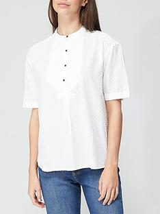 superdry-grandad-blouse-white