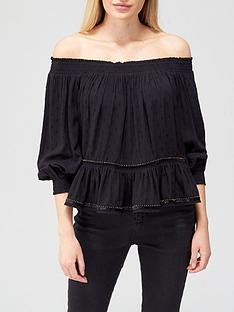 superdry-ameera-off-shoulder-top-blacknbsp