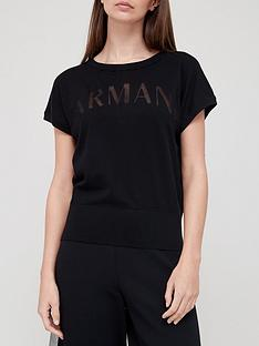 armani-exchange-logo-t-shirt-black