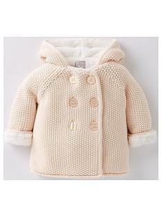 the-little-tailor-baby-girls-plus-linednbsppram-coatnbsp--pink
