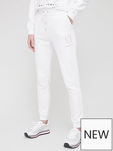armani-exchange-sweatpants-white