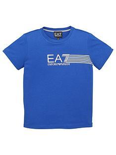 ea7-emporio-armani-boys-7-lines-logo-t-shirt-blue