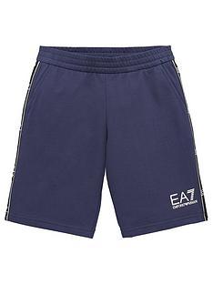 ea7-emporio-armani-boys-tape-logo-shorts-navy