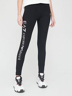 ea7-emporio-armani-classic-logo-leggings-black