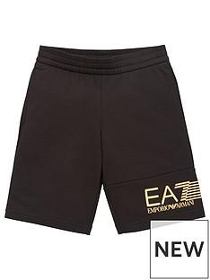 ea7-emporio-armani-boys-7-lines-logo-jog-shorts-black