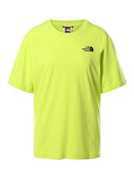 the-north-face-boyfriend-simple-dome-t-shirt-green